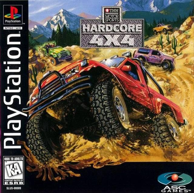 TNN Hardcore 4x4 - PS1 - ISOs Download