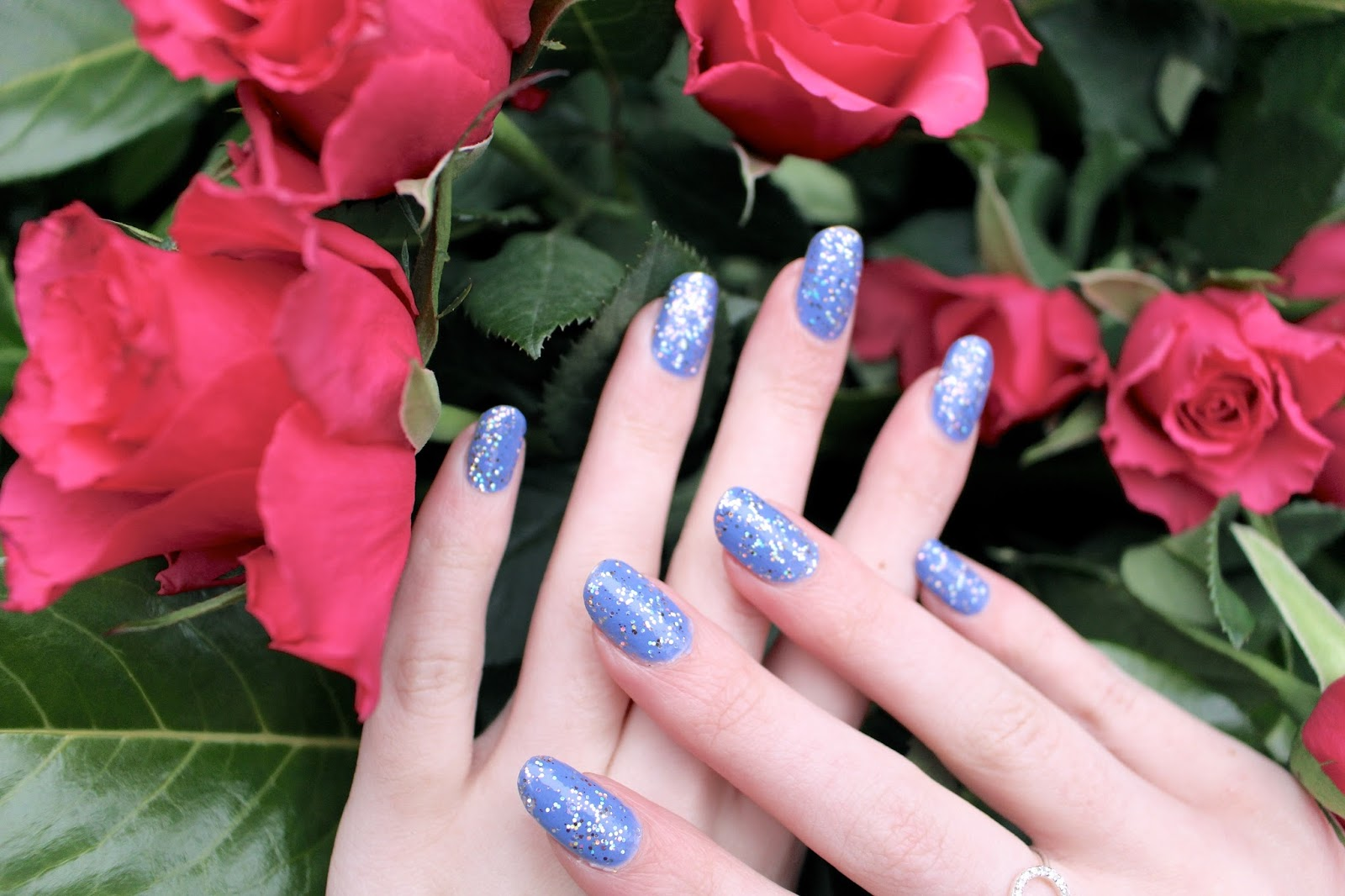 uk beauty blogger long nails