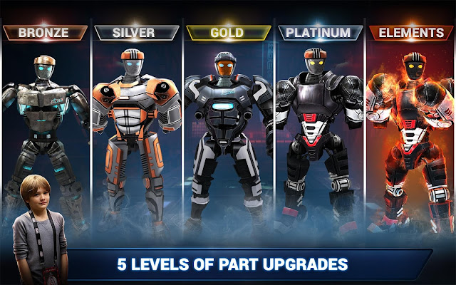 Real Steel Champions v1.0.261 Apk + Datos SD Mod [Dinero]