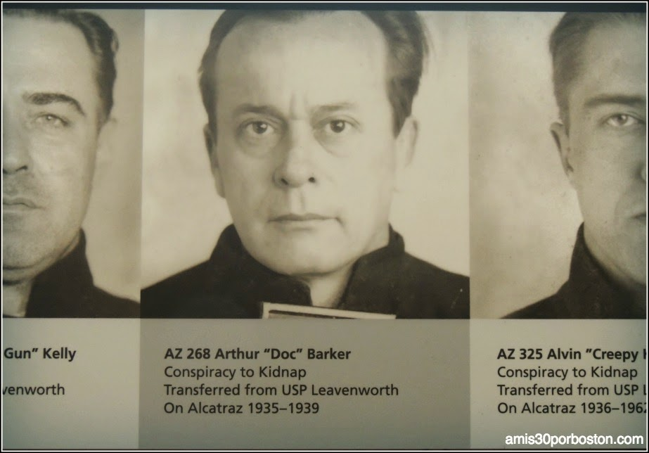 """La Prisión de Alcatraz: Prisioneros Más Famosos """"Doc"""""""