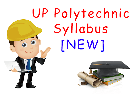 2018 Up Polytechnic Syllabus: check here
