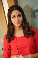 Actress Lavanya Tripathi Latest Pos in Red Dress at Radha Movie Success Meet .COM 0235.JPG