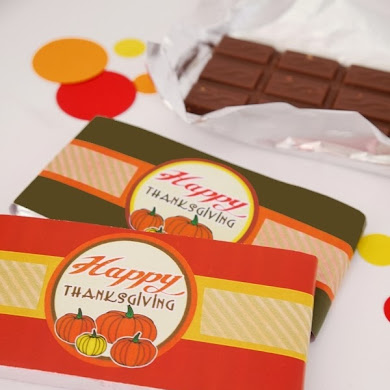 Last Minute DIY Thanksgiving Party Favors