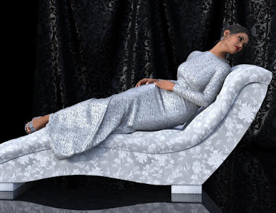 Bella Donna Poses, Chaise - Shaders