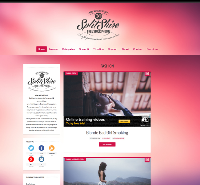splitshire-free-stock-sites Great List of Awesome Free Stock Photos Websites for Web Designers Tutorial