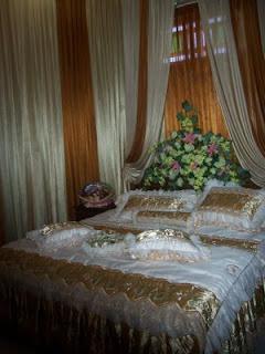 nisarthur wedding planner: dekorasi kamar pengantin