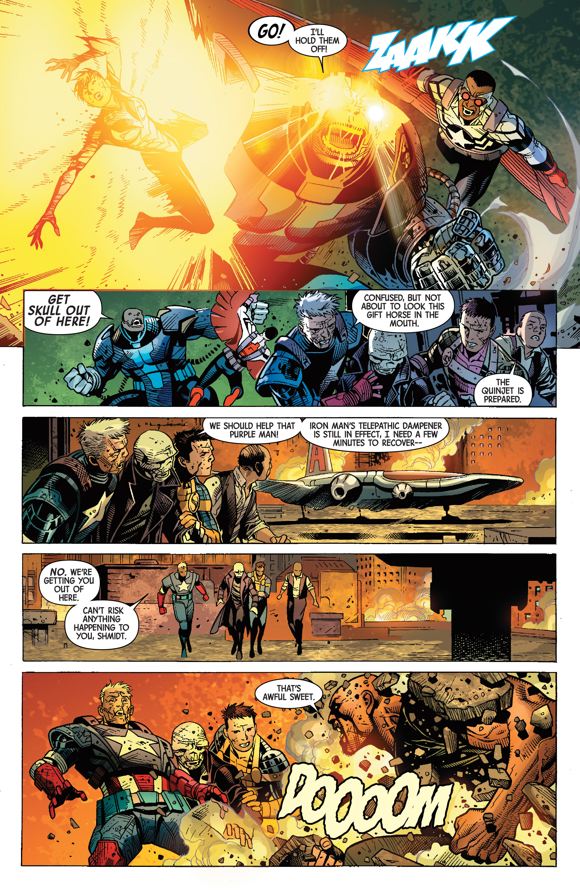 Read online Avengers & X-Men: AXIS comic -  Issue #9 - 25