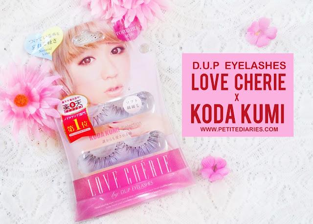 love cherie koda kumi d.u.p eyelashes review