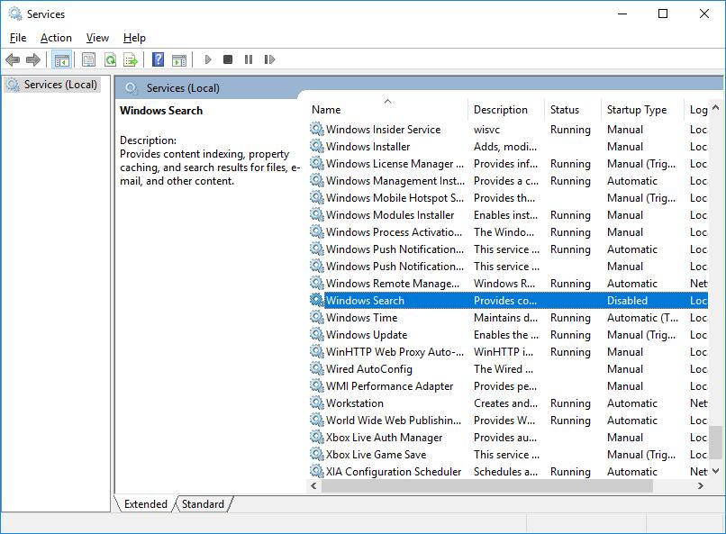 start menu not working windows server 2016