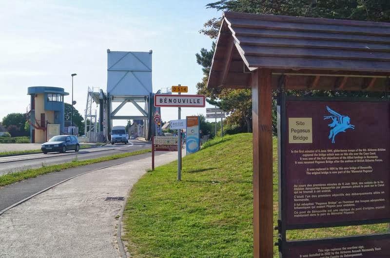 puente Pegasus, puente de Bénouville