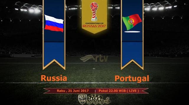 Prediksi Bola : Russia Vs Portugal , Rabu 21 Juni 2017 Pukul 22.00 WIB @ RTV