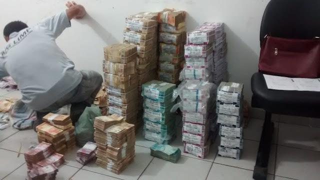 Polícia estima que R$ 100 milhões foram roubados após assalto a agência bancária em Bacabal