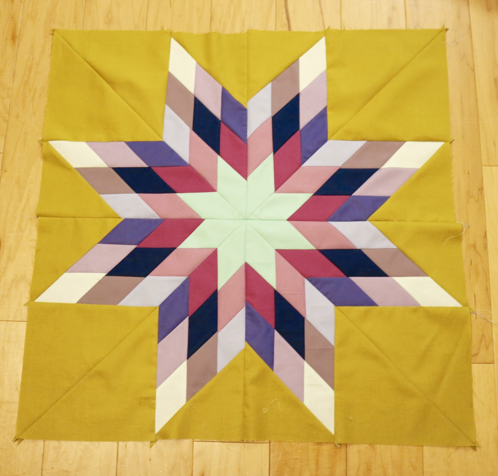 TIA CURTIS QUILTS: Lone Star Quilt Block Tutorial : lone star quilt pattern - Adamdwight.com