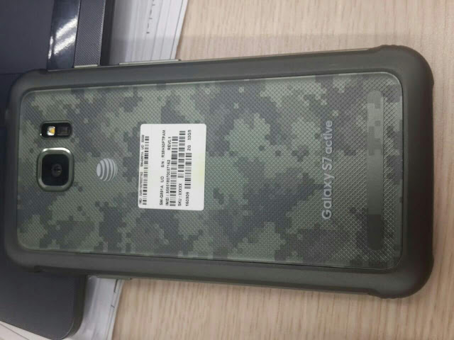 Purported images of the Samsung Galaxy S7 Active leaked online