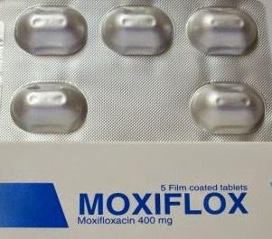 موكسيفلوكس مضاد حيوي واسع المجال (موكسيفلوكساسين) Moxiflox