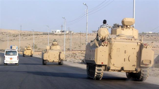 Roadside bomb kills 3 policemen in Egypt's Sinai