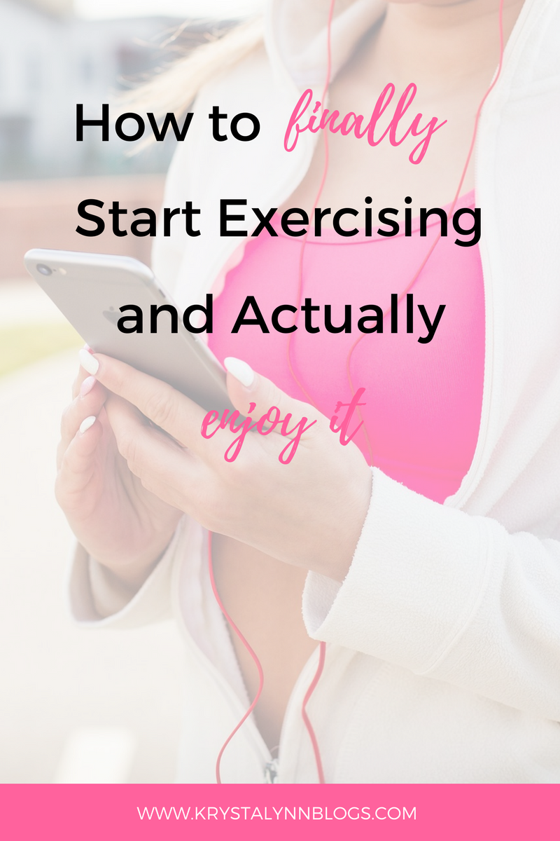 Taking care of yourself, both mentally and physically, should be on the top of your to-do list. It might be hard to remember sometimes but YOU are your number one priority. If you're not used to taking care of your body with exercise, it can be really difficult to start, but it doesn't have to be that way! Read on to find out how you can FINALLY start exercising (and actually enjoy it).