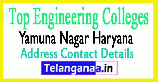 Top Engineering Colleges in Yamuna Nagar Haryana