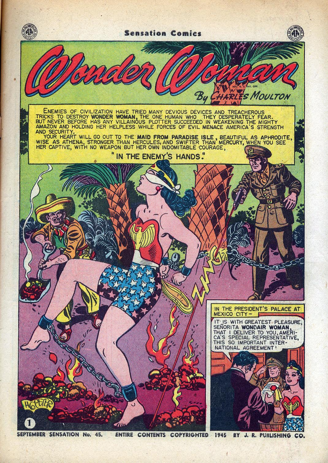 Read online Sensation (Mystery) Comics comic -  Issue #45 - 3