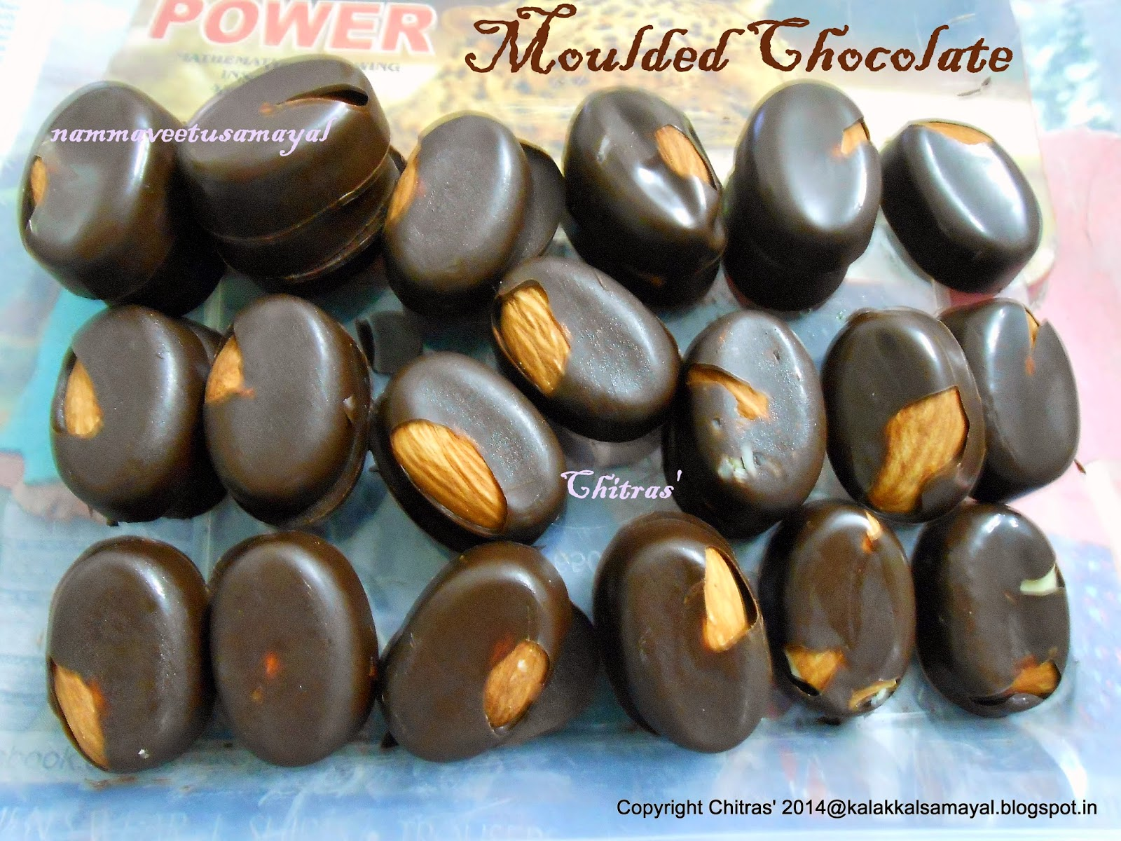 Moulded Dark Chocolate