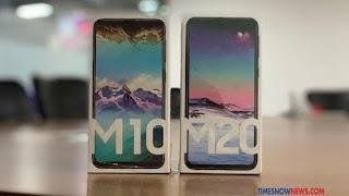 Kemasan Galaxy M10 dan Galaxy M20./Foto: Timesnownews.com