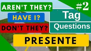 Guía para formar Tag Questions en inglés con explicación en español y varios ejemplos