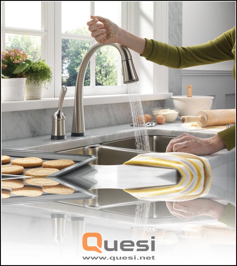 Kitchen sinks for dish-washing