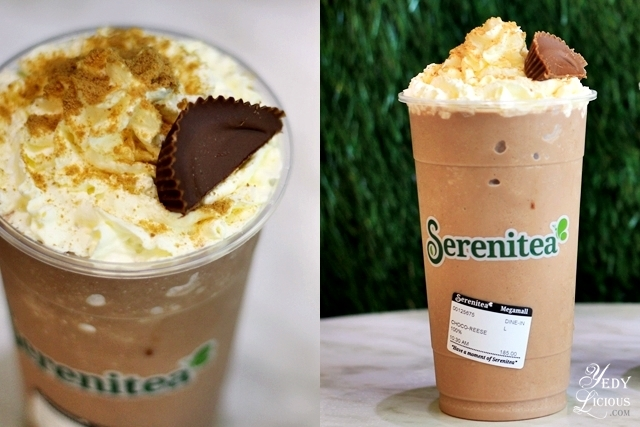 Serenitea Chocolate Slush with Reese's Peanut Butter Cups