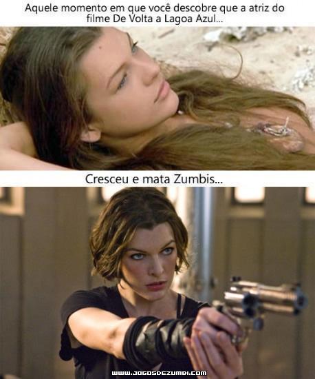Milla Jovovich: da Lagoa Azul até Resident Evil