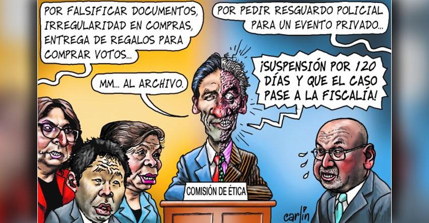 Carlincaturas Miércoles 5 Abril 2017 - La República