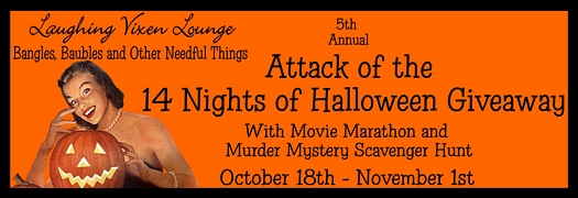 Blog Hop: Attack of the 14 Nights of Halloween Giveaway