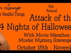 5th Annual Attack of the 14 Nights of Halloween Giveway!!