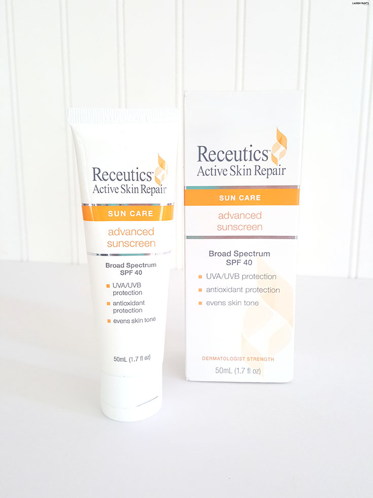 "The sun is strong and can do all kinds of damage and the older you get, the more you realize that ""tanning"" isn't worth it! Find out about Receutics Advanced Sunscreen and how it can help you protect your skin!"