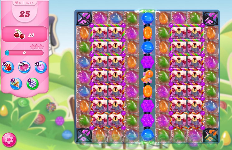 Candy Crush Saga level 7045