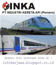 BUMN PT INKA (Industri Kereta Api)