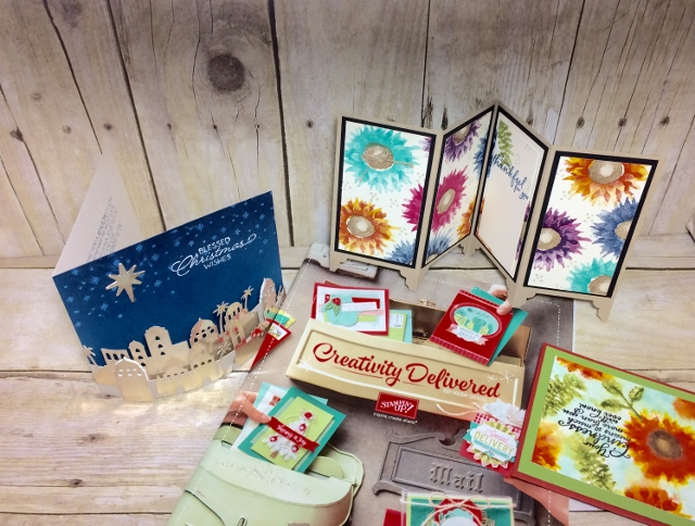 Stampin'Up! Holiday Catalog 2017, Tour with Frenchie