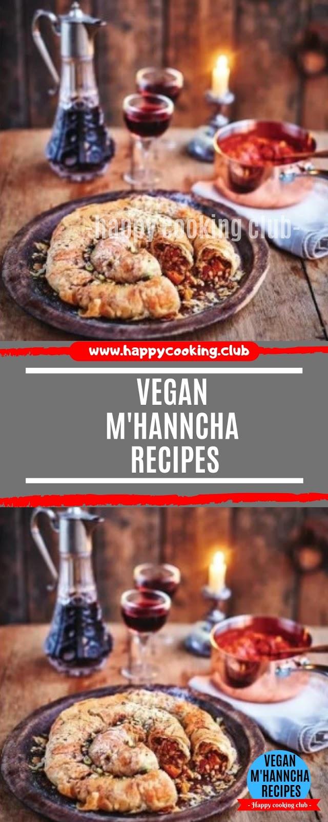 Vegan m'hanncha Recipes