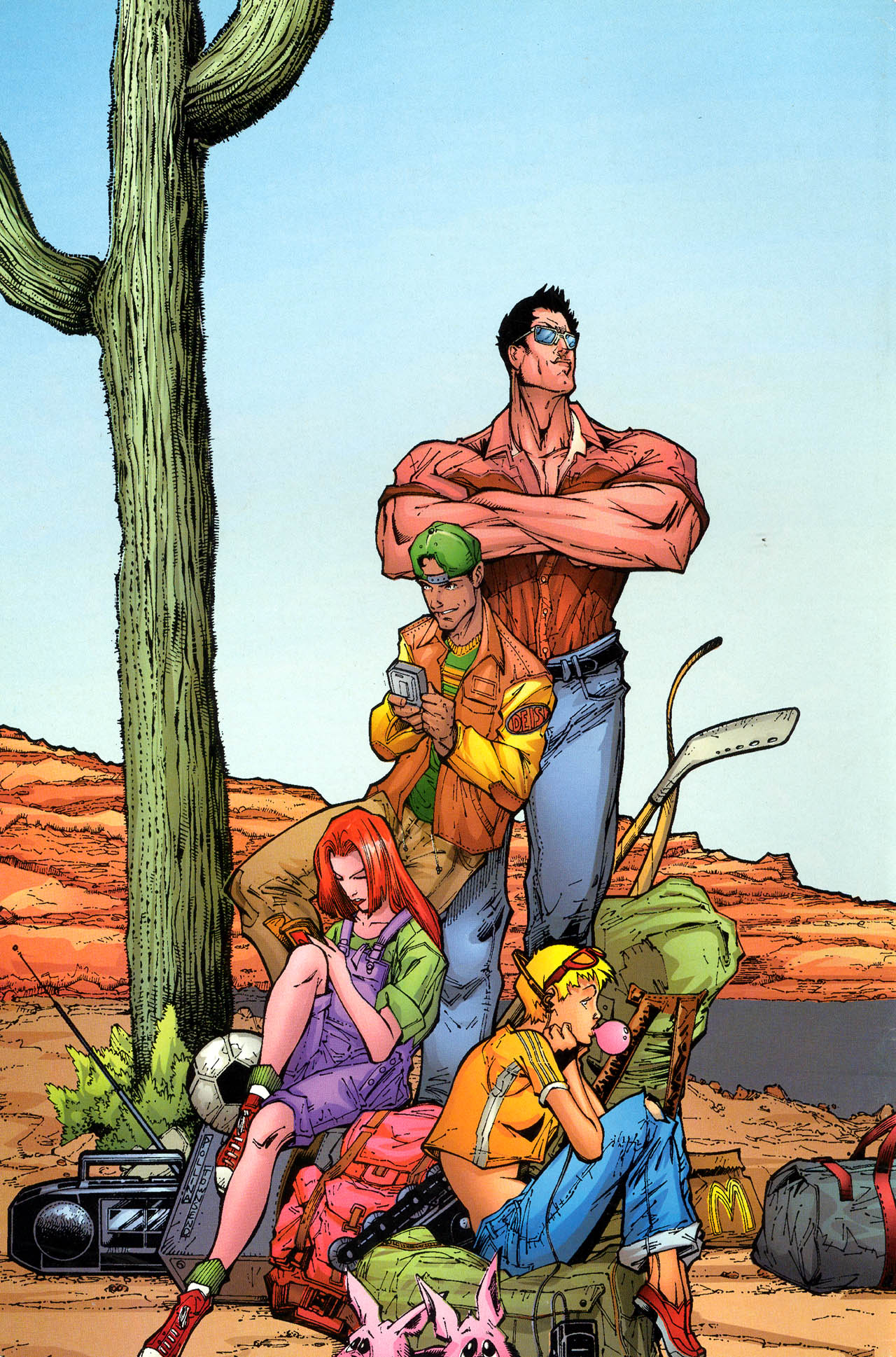 Read online X-Force (1991) comic -  Issue #71 - 37