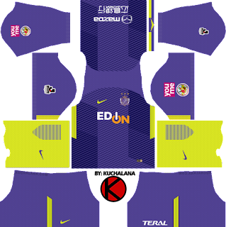 Sanfrecce Hiroshima Nike kits 2018 - Dream League Soccer Kits