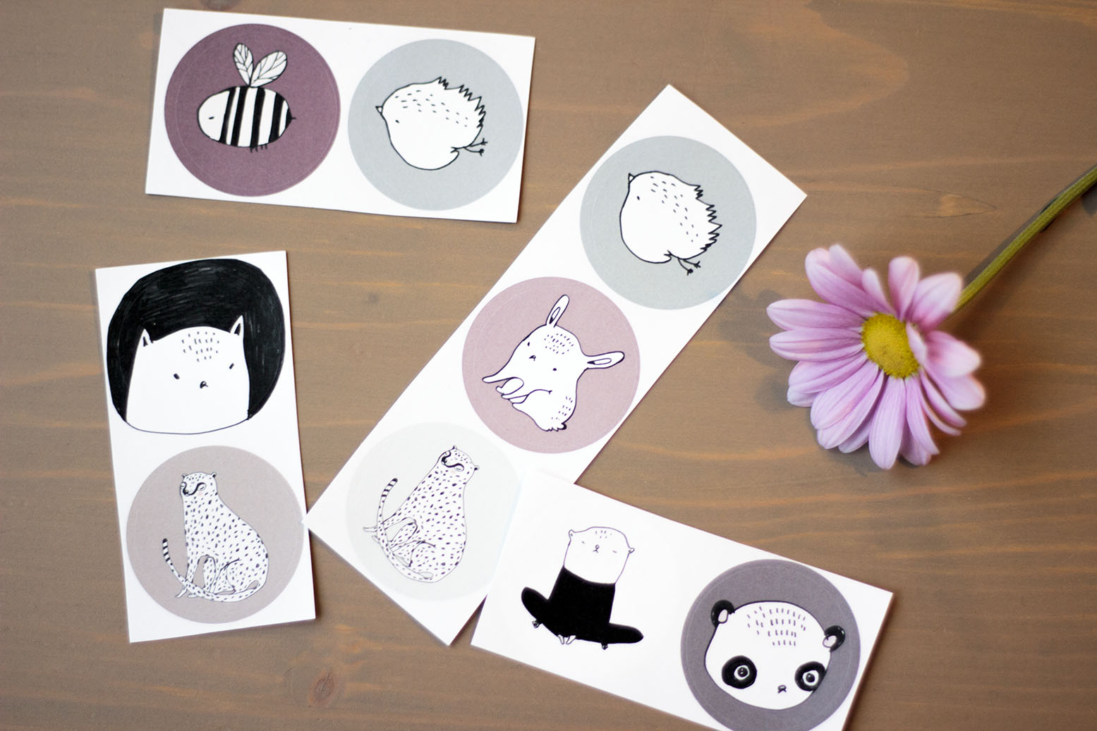 Majasbok stickers