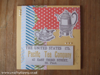 Stampin' Up! Tea for Two paper