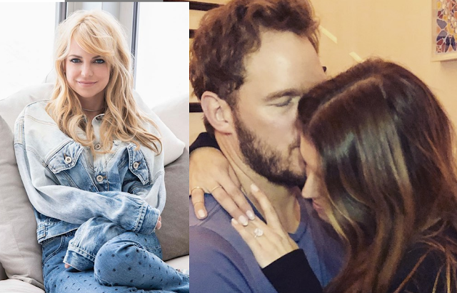 Anna Faris reveals ex Chris Pratt's engagement text news and her reaction
