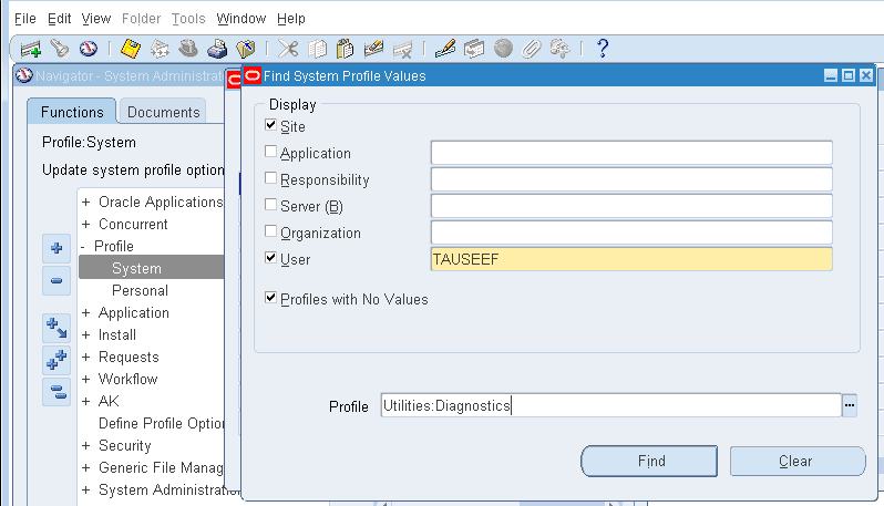 OracleAppsnFusion: How To Enable / Disable Forms Personalization Option