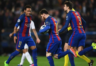 Magical!!! Barca Defeats PSG 6-1 At Home After 4-0 First Leg Humiliation 2