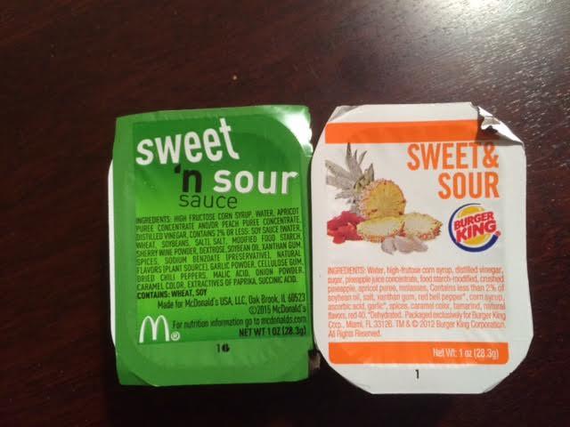 Burger King Sweet And Sour Sauce Ingredients Bobotie