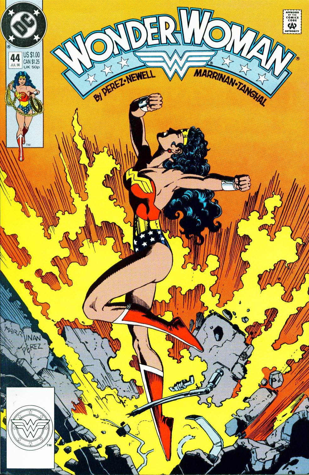 Read online Wonder Woman (1987) comic -  Issue #44 - 2