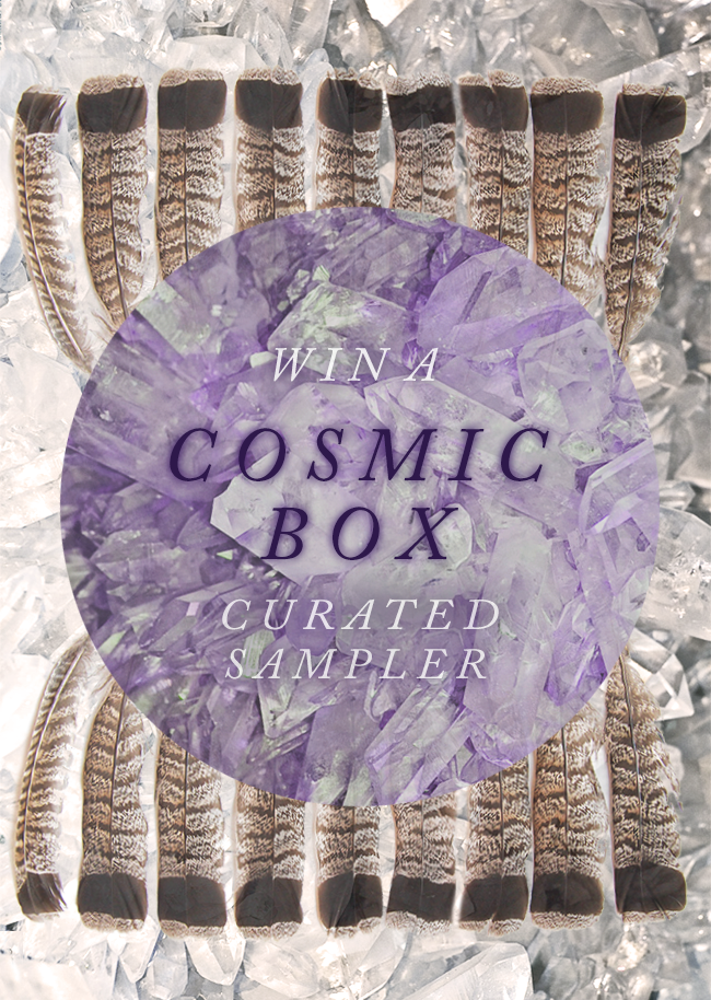 GIVEAWAY // Win a Cosmic Box Curated Sampler from Bubby & Bean!
