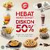 Promo PIZZA HUT Terbaru - Hebat Diskon 50% Tiap Senin - Jumat