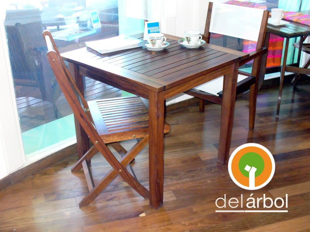 Del arbol f brica de muebles de madera mesa bar de for Fabrica de muebles de madera