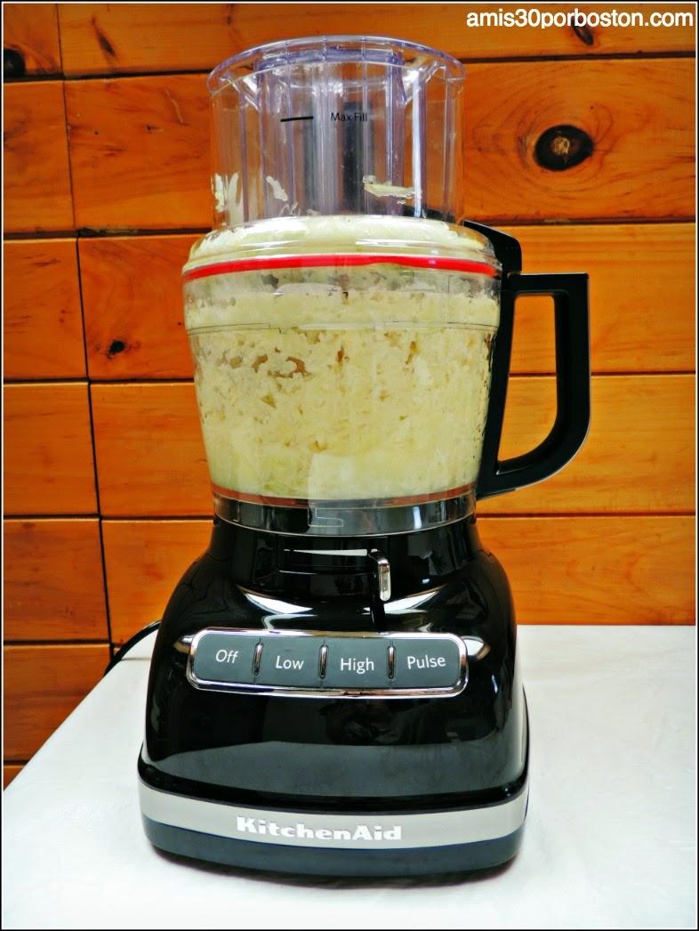 Procesador de Alimentos para Rallar las Patatas y Cebolla